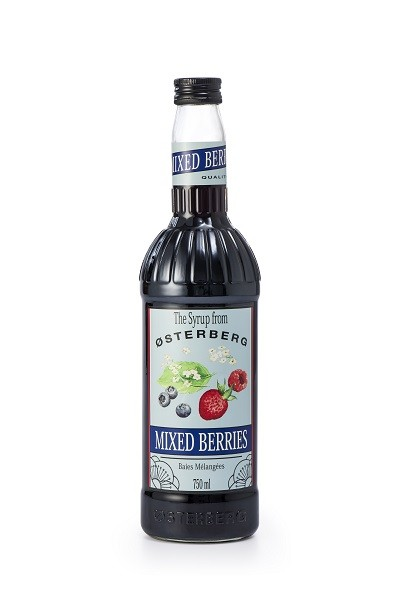 Syrup Osterberg Trái cây hỗn hợp 750ml