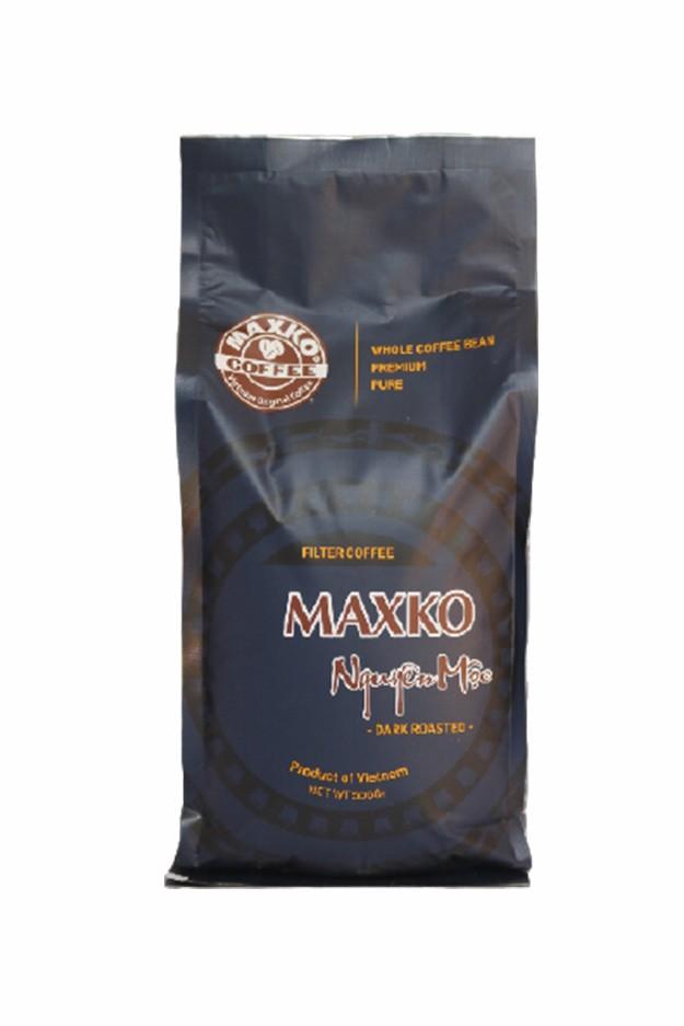 Cà phê bột Nguyên Mộc Maxko