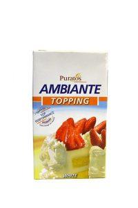 Kem sữa béo Puratos Ambiante Topping cream 1kg